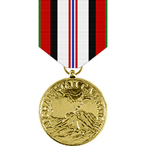 Afghanistan Campaign Anodized Medal