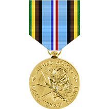 Armed Forces Expeditionary Anodized Medal