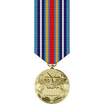 Global War on Terrorism Service Mini Anodized Medal
