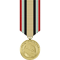 Iraq Campaign Mini Anodized Medal