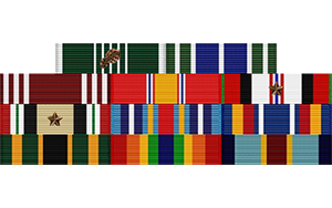 Military Ribbons Rack Builder